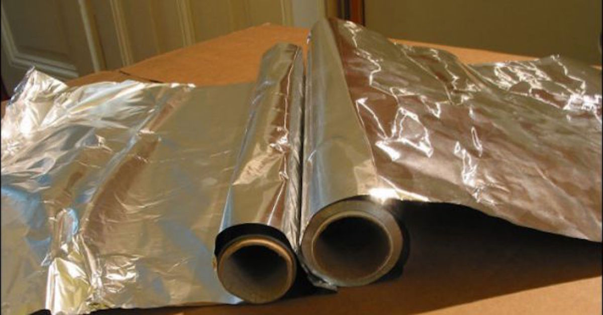 doctors warning against aluminum foil